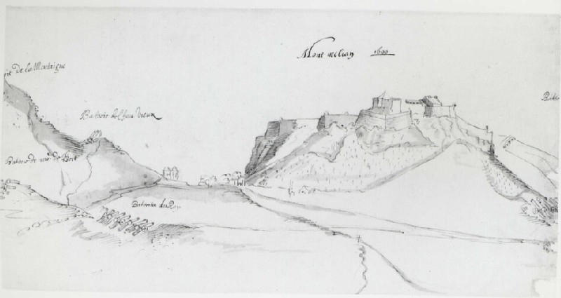 View of the Fortress at Montmélian (WA.Suth.B.2.64.10, record shot)