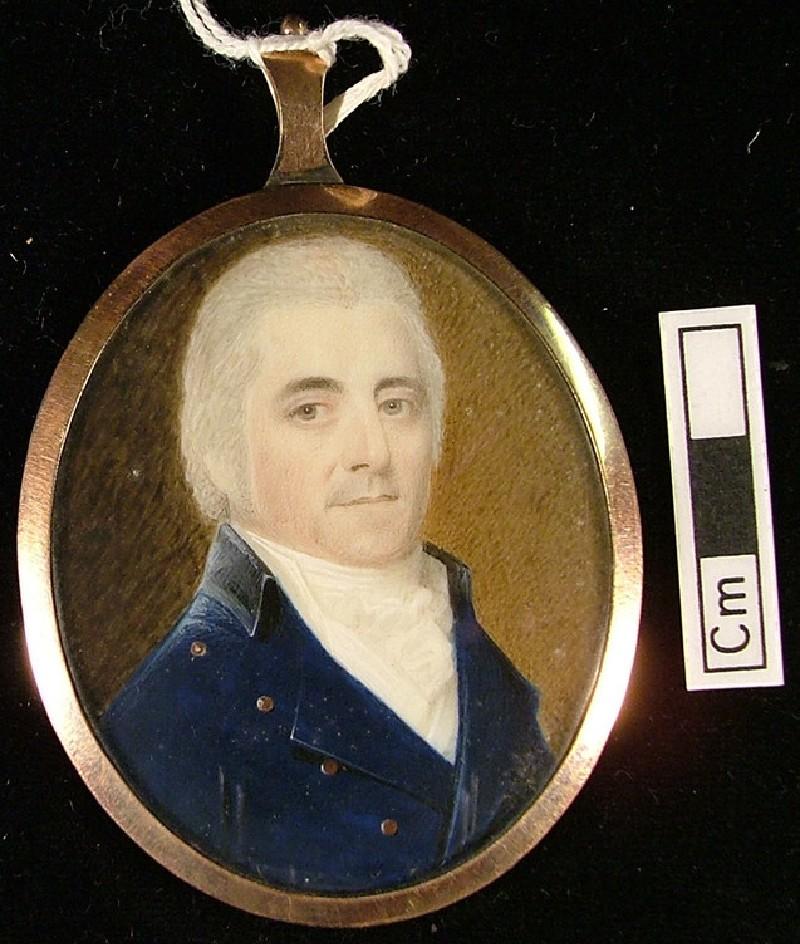 Portrait of Mr Joseph Spraggan (Spraggon) (WA.OA399, record shot)