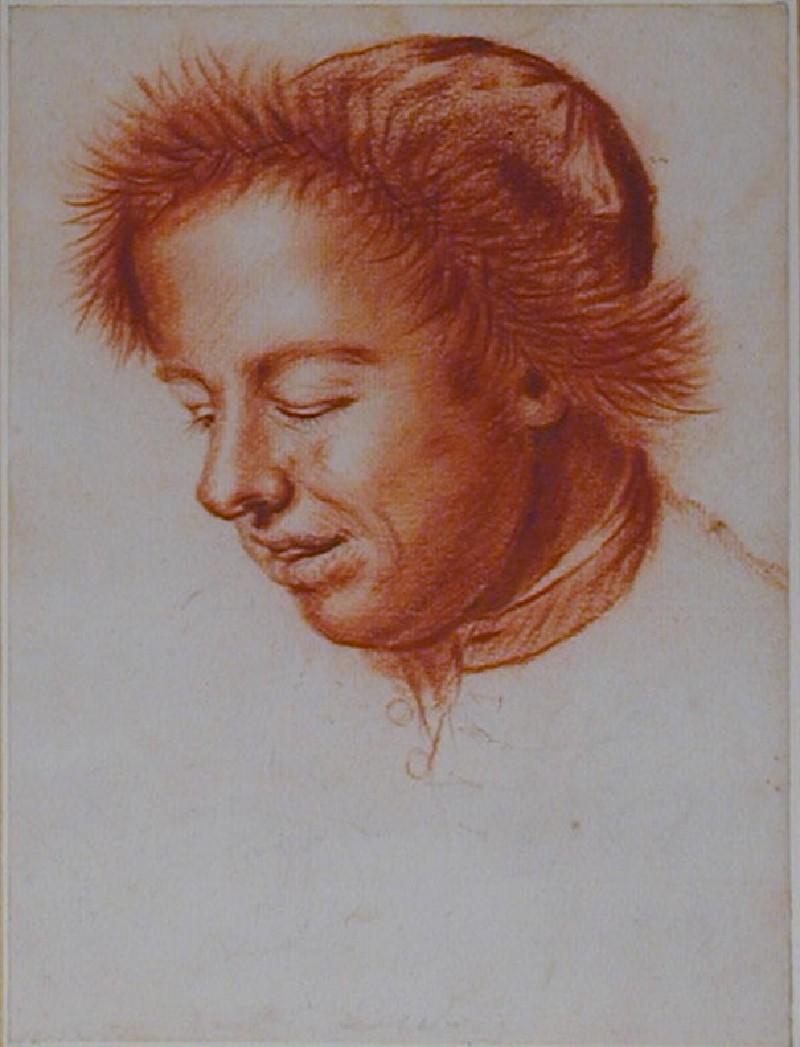 Portrait of a young Man, possibly Bartholomew Beale (WA1863.1001, record shot)