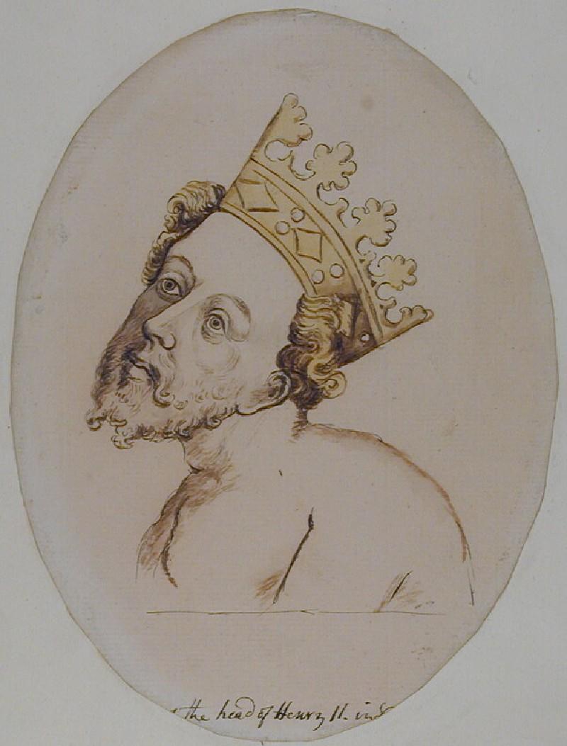 Henry II in Penitence