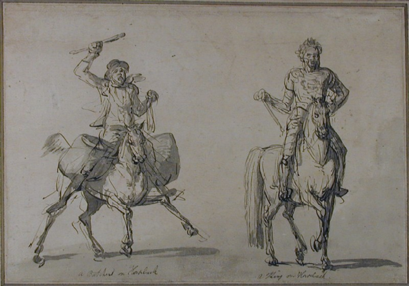 A Butcher on Horseback and a King on Horseback