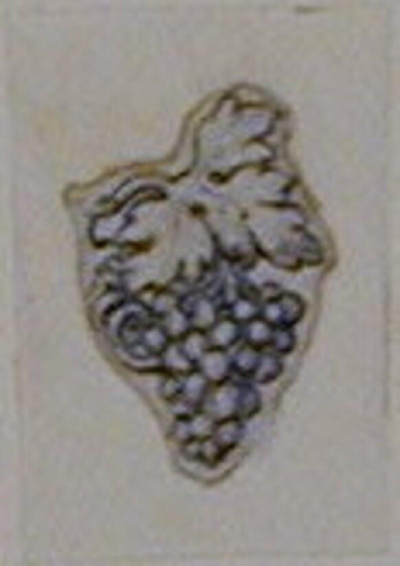 An Ornamental design depicting a bunch of grapes (WA1863.133.482, record shot)