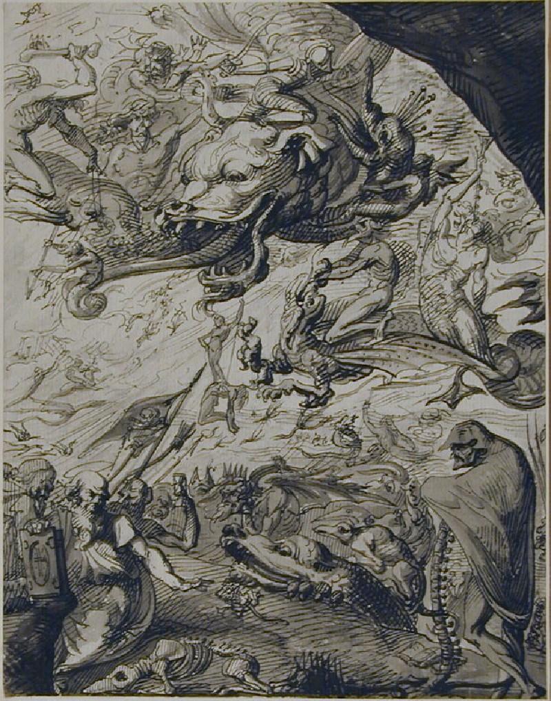 The Temptation of St Anthony (WA1863.1351, record shot)