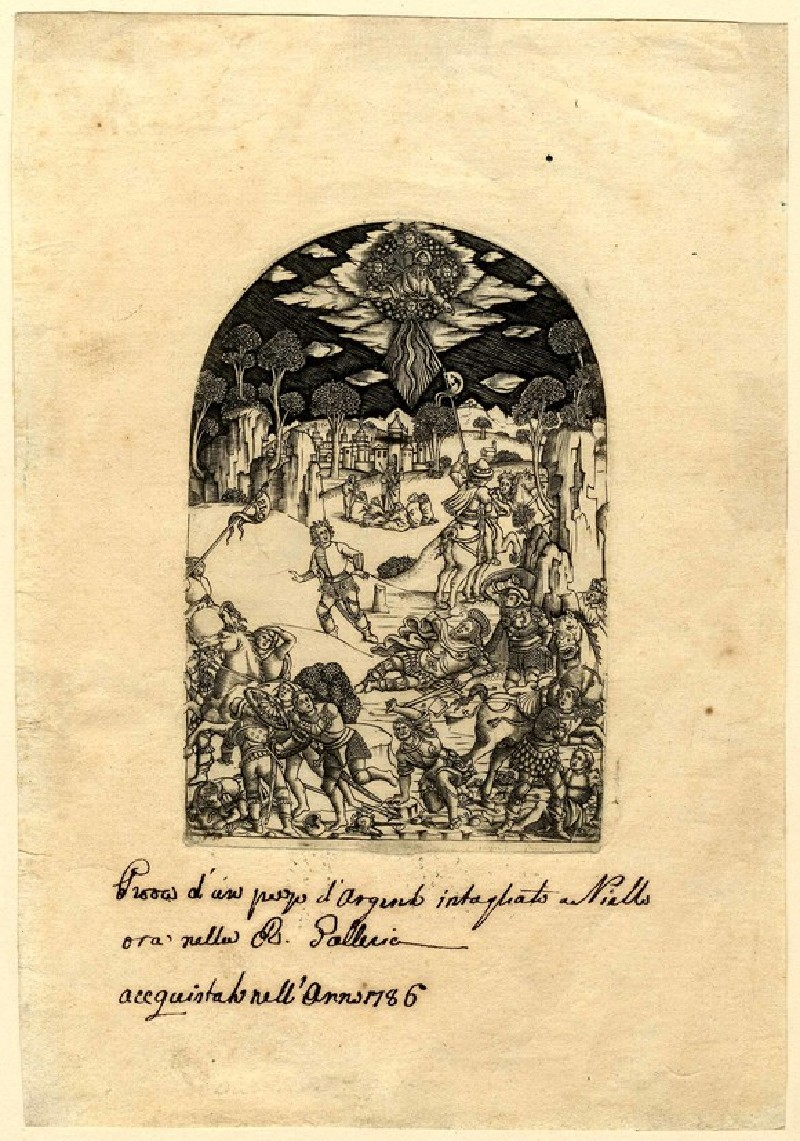 The Conversion of St Paul (WA1863.1631, record shot)