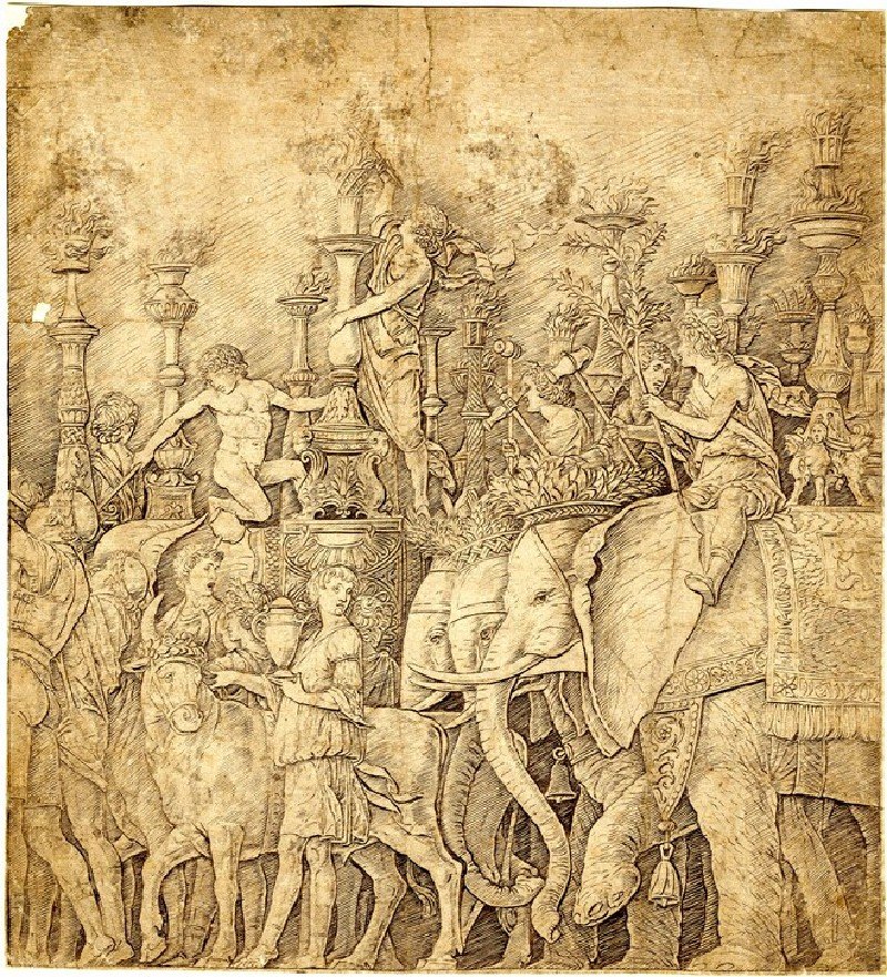 Triumph of Caesar with the Elephants