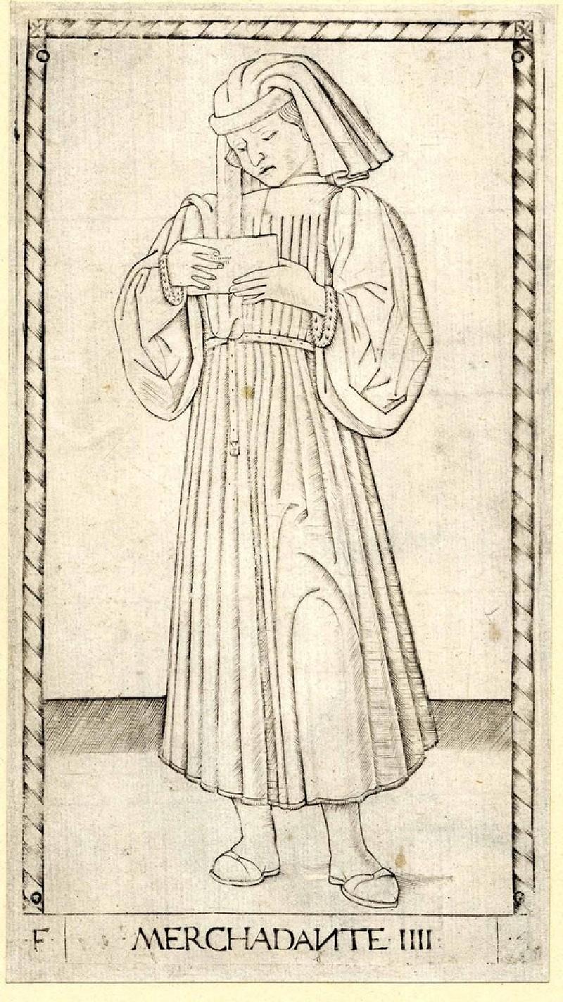 The Merchant (Merchadante VIIII) (WA1863.1667, record shot)