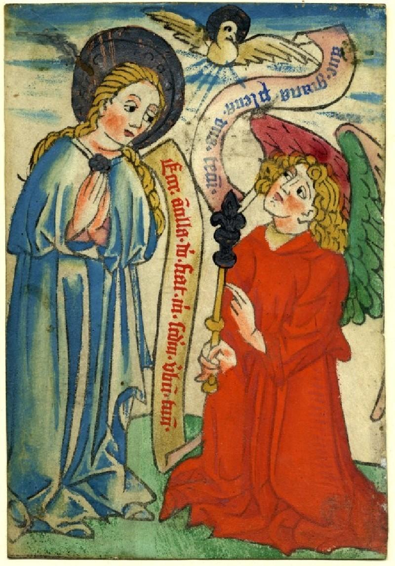 The Annunciation (WA1863.1882, record shot)