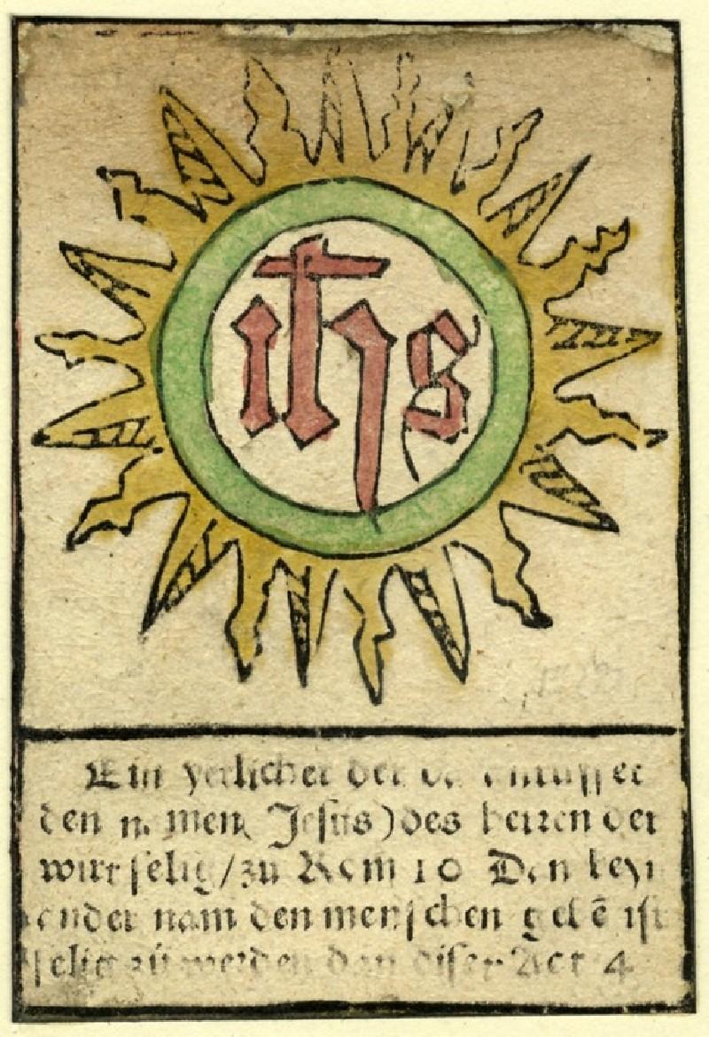 The Sacred Monogram (WA1863.1883, record shot)