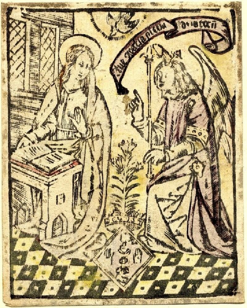 The Annunciation (WA1863.1893, record shot)