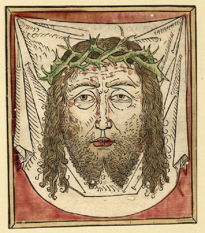 The Face of Christ, on the Sudarium (WA1863.1896, record shot)