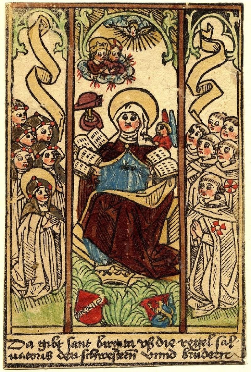 Saint Bridget (triptych) (WA1863.1904, record shot)
