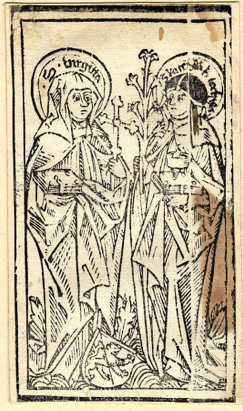 Saint Bridget and St Catherine of Sweden
