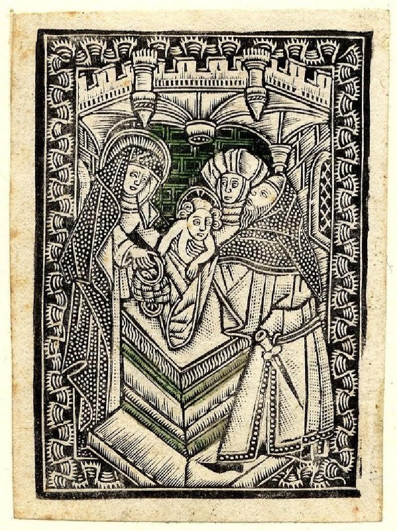 The presentation in the temple (WA1863.1927, record shot)