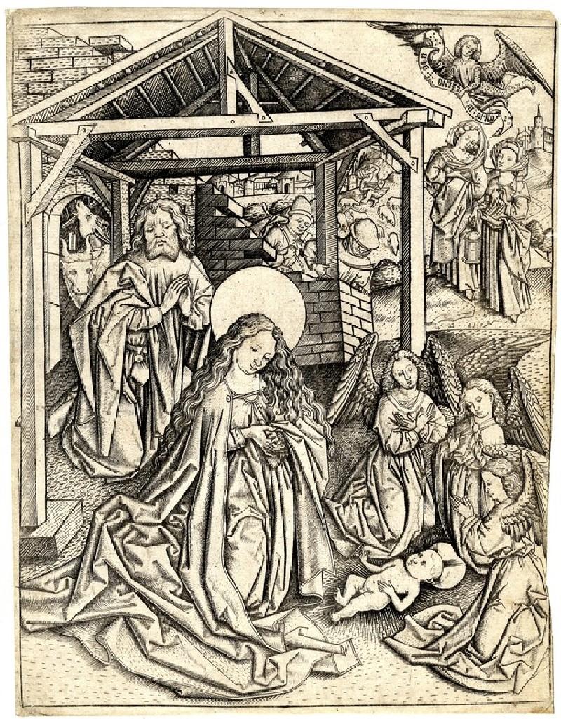 The birth of Christ (WA1863.1993, record shot)