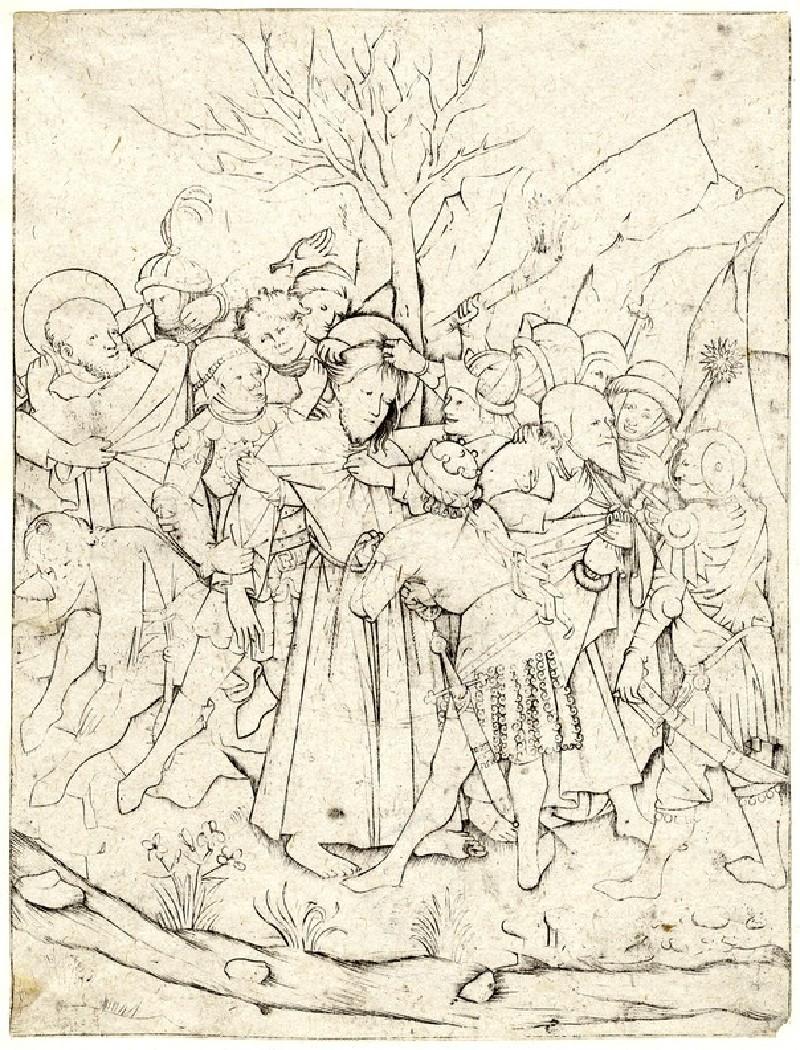 The betrayal and capture of Christ (WA1863.2025, record shot)