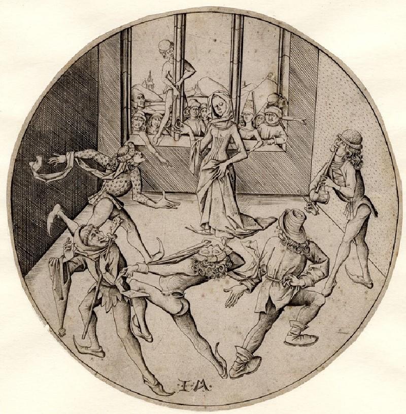 The Morris Dance (WA1863.2087, record shot)