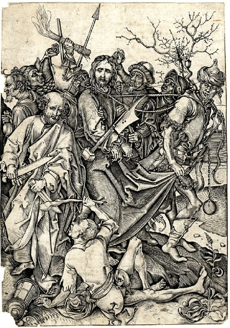 The betrayal and capture of Christ