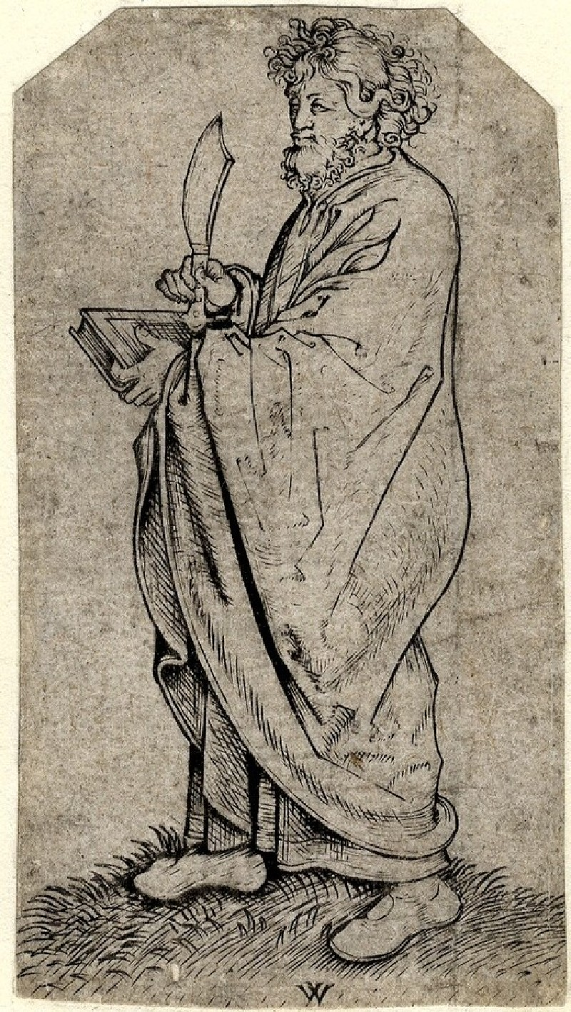 Bartholomeus, from the series of the twelve disciples