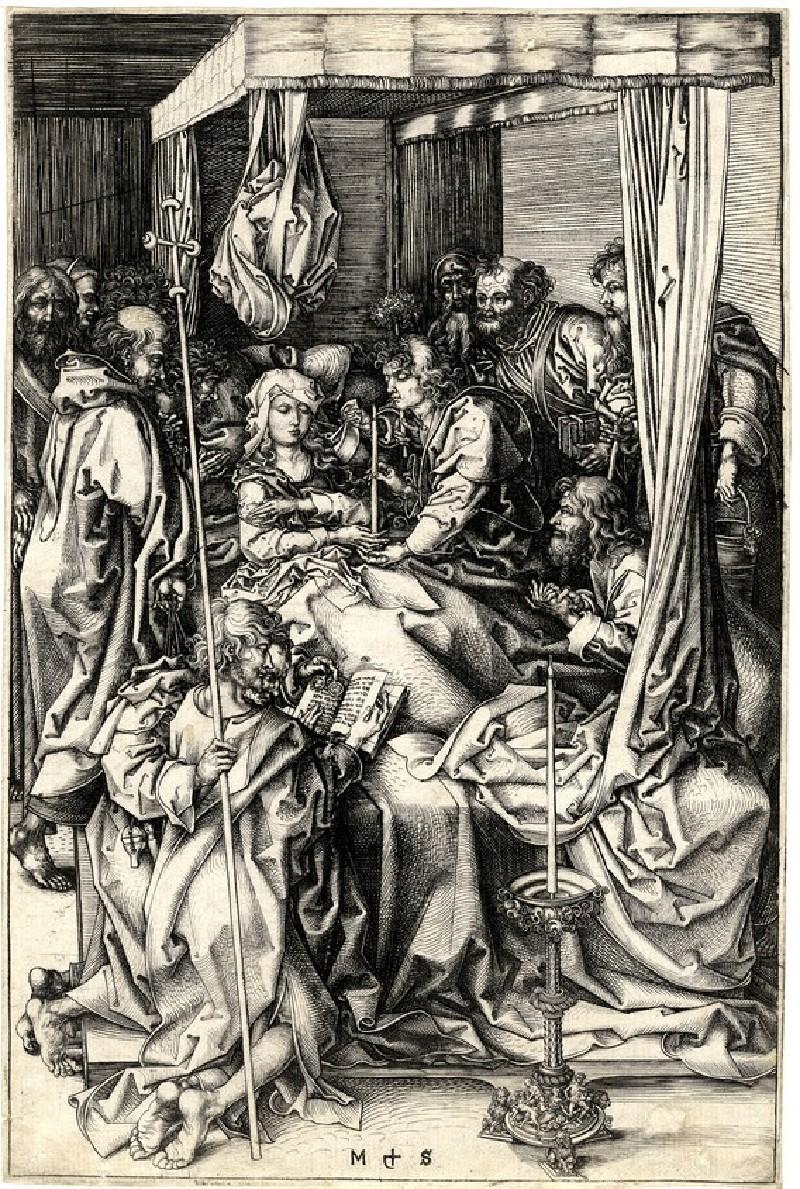 The Dormition of the Virgin (WA1863.2139, record shot)