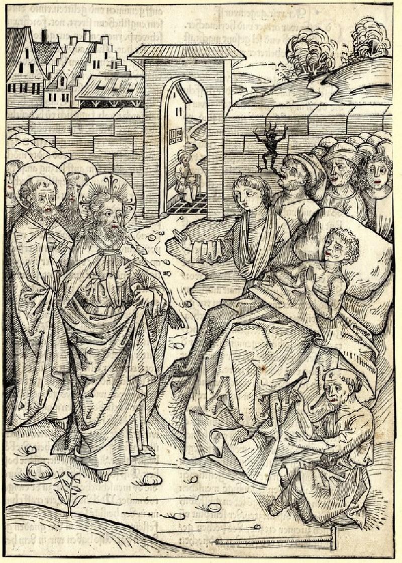 Christ and the healing at the lake Bethesda (John 5)