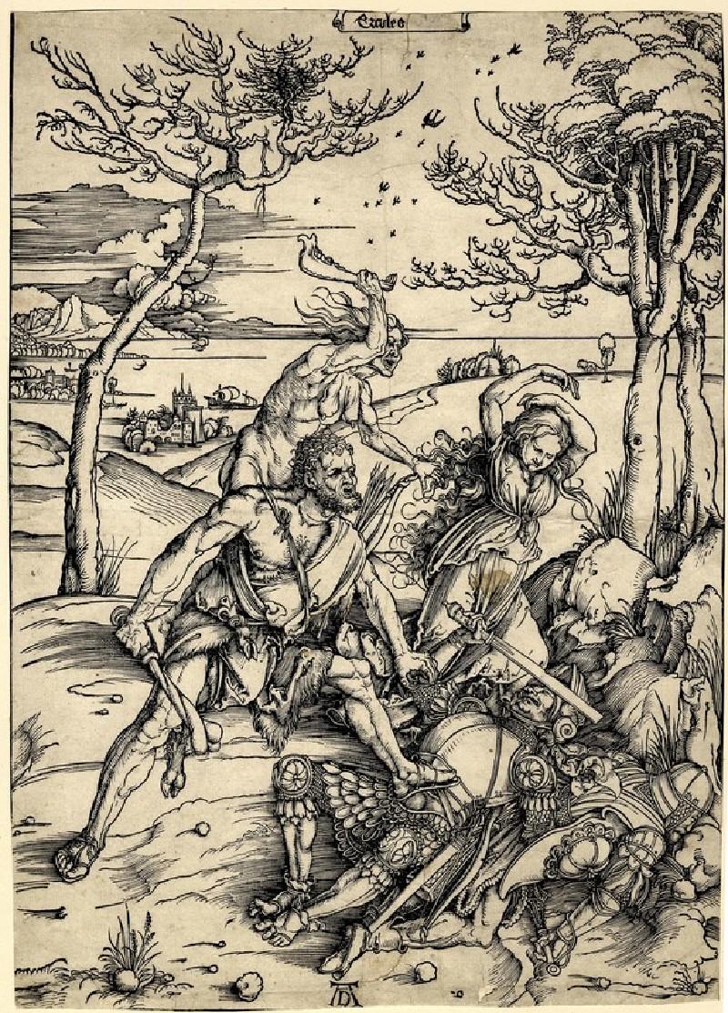 Hercules defeating the Moliones (WA1863.2390, record shot)