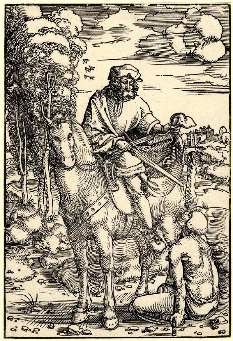 St Martin on Horseback