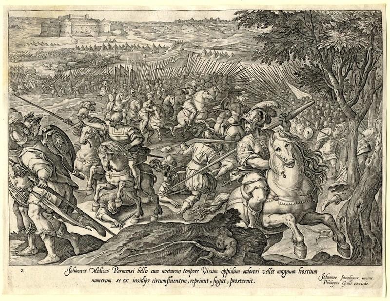 Giovanni de' Medici defeated at Parma (WA1863.2854, record shot)