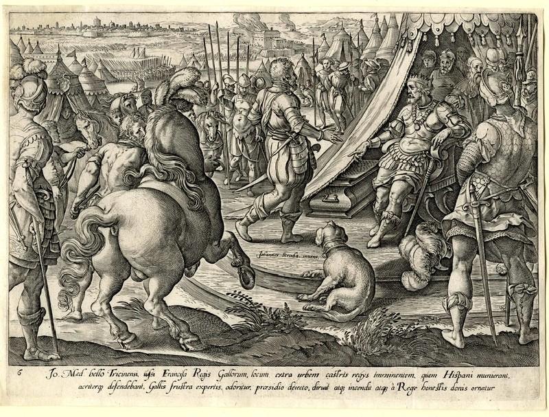 Giovanni de' Medici before Francis I (WA1863.2856, record shot)