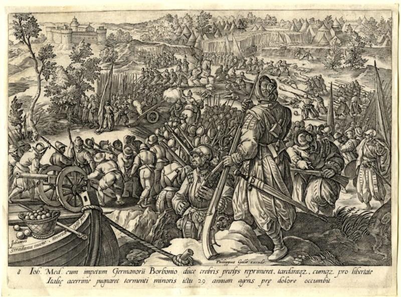 The Death of Giovanni de' Medici (WA1863.2858, record shot)