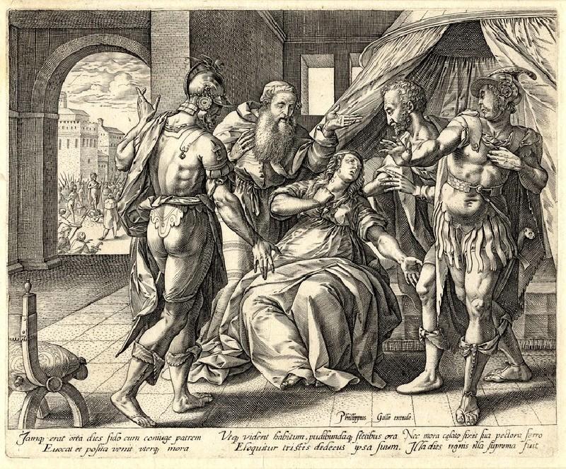 Lucretia's suicide (WA1863.2862, record shot)