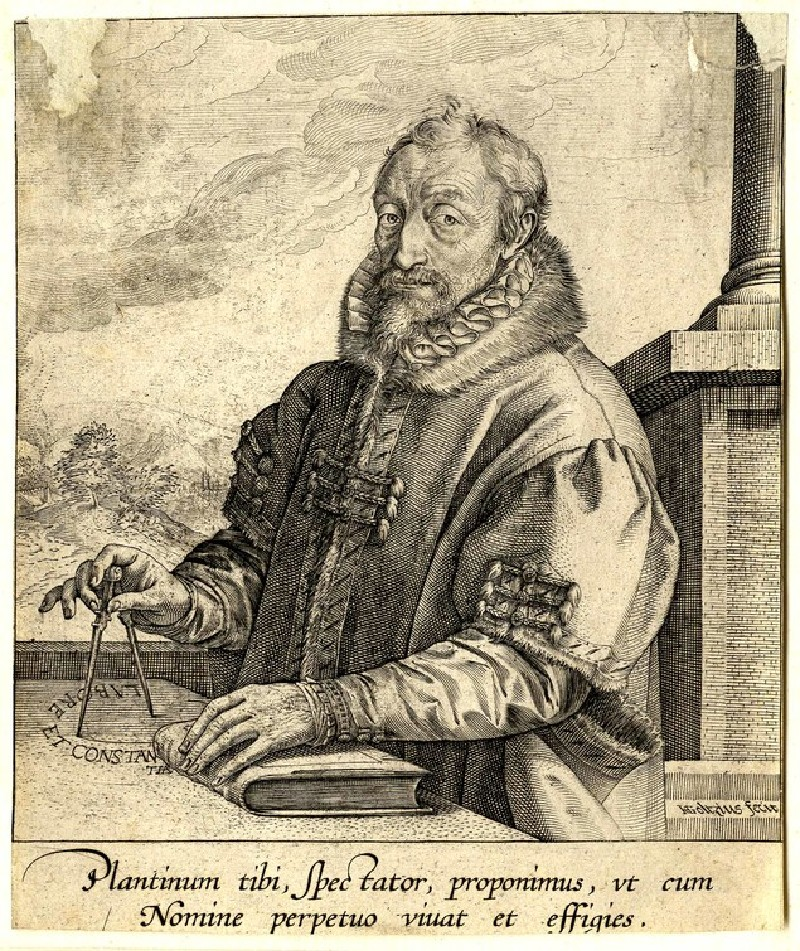 Portrait of Christoph Plantin (WA1863.2871, record shot)