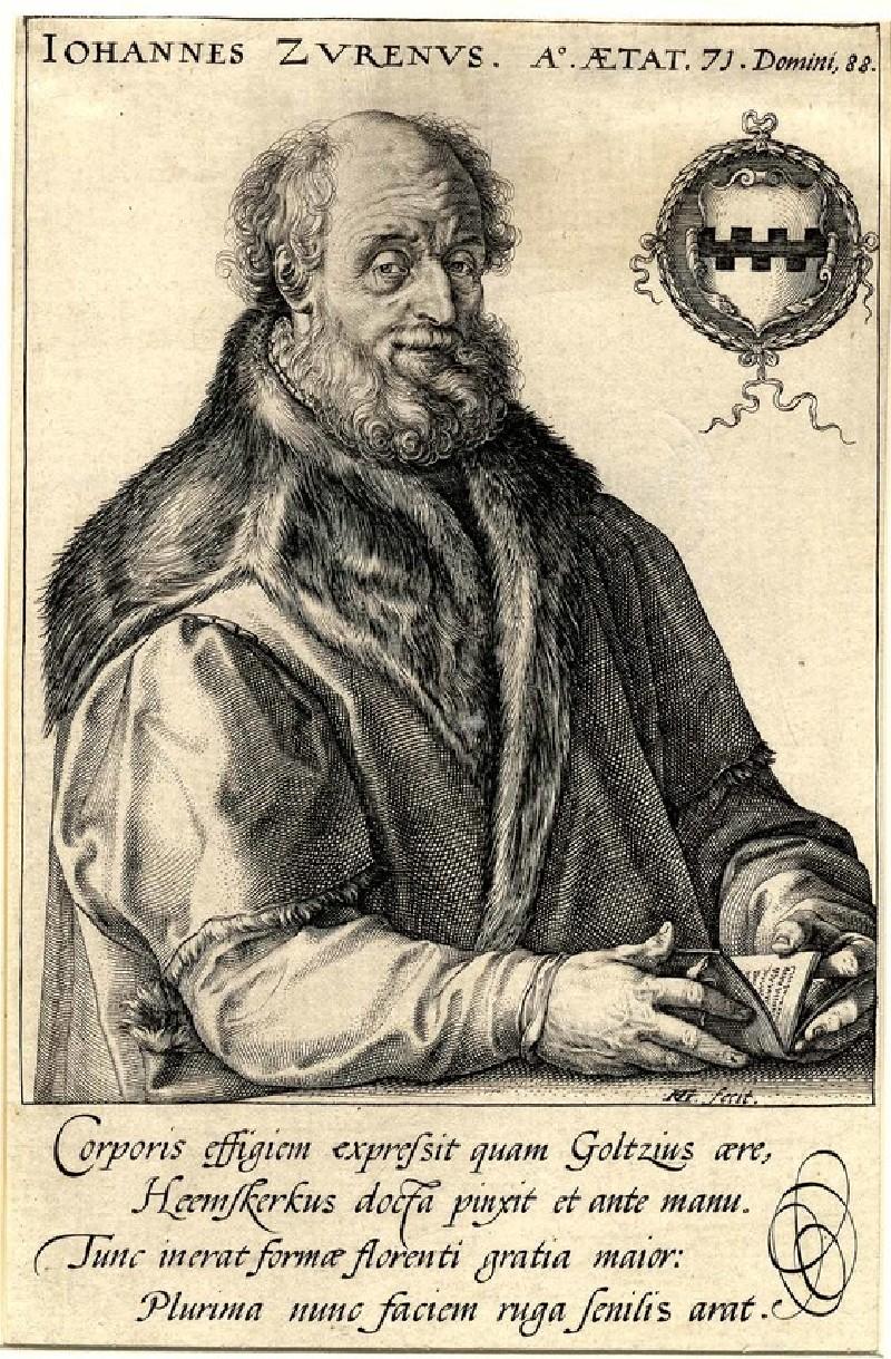 Portrait of Jan van Zuren, aged seventy-one (WA1863.2882, record shot)