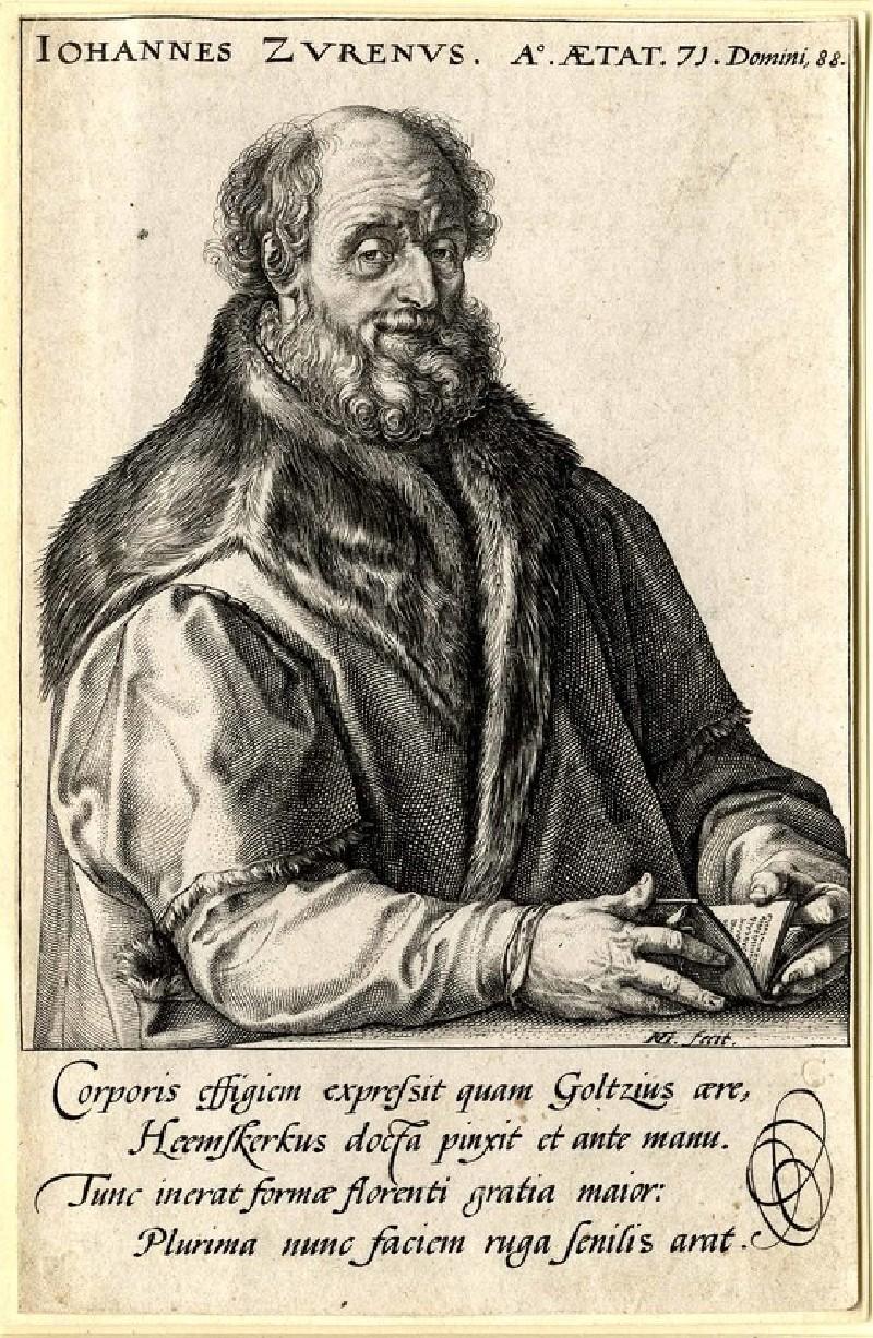 Portrait of Jan van Zuren, aged seventy-one (WA1863.2883, record shot)