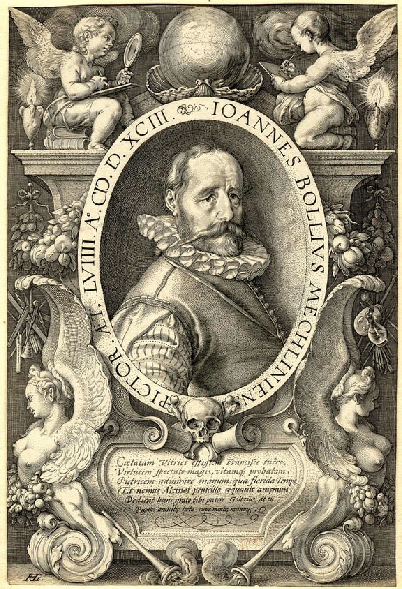 Portrait of Hans Bol (WA1863.2890, record shot)