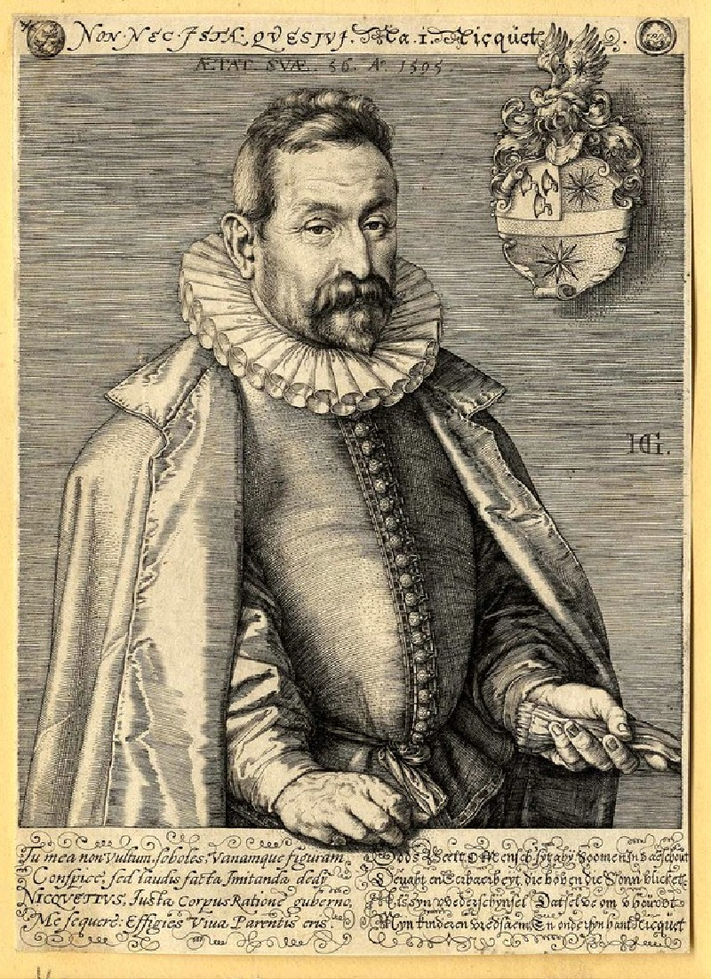 Portrait of Jan Nicquet (WA1863.2893, record shot)