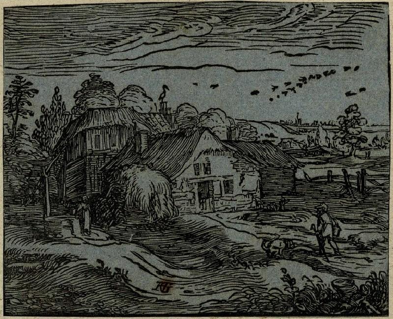 Landscape with a farmhouse (WA1863.2900, record shot)
