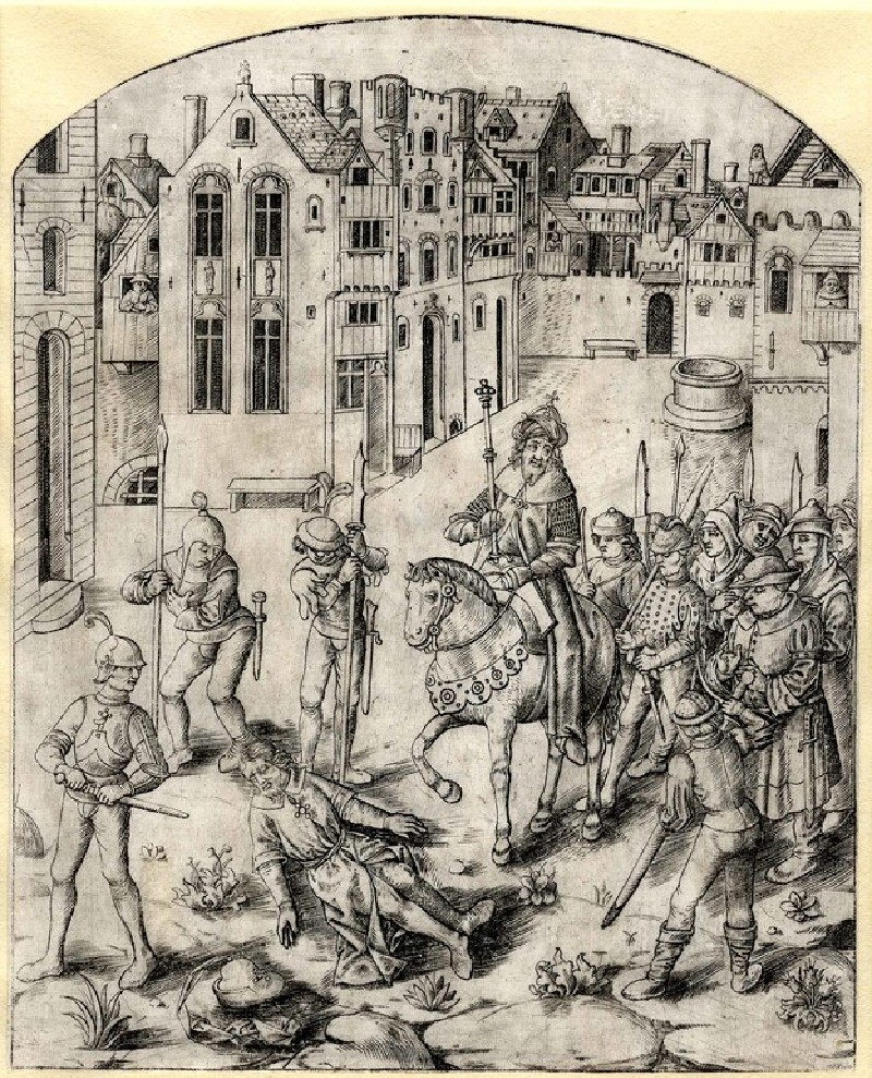 Death of King Saul (Book II, chapter I)