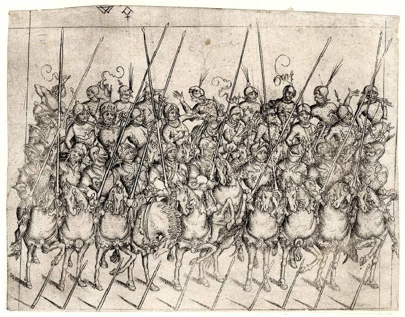 Detachment of twenty-eight cavalrymen (WA1863.2921, record shot)