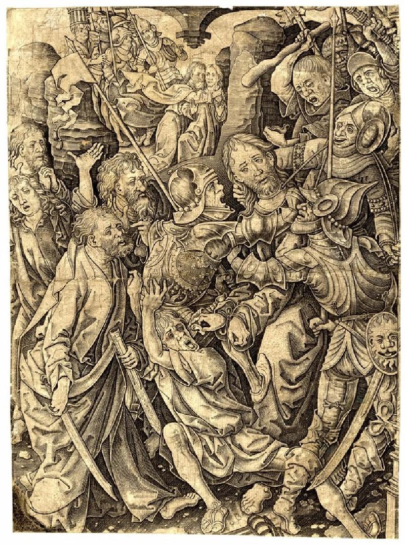 The betrayal and capture of Christ (WA1863.2944, record shot)