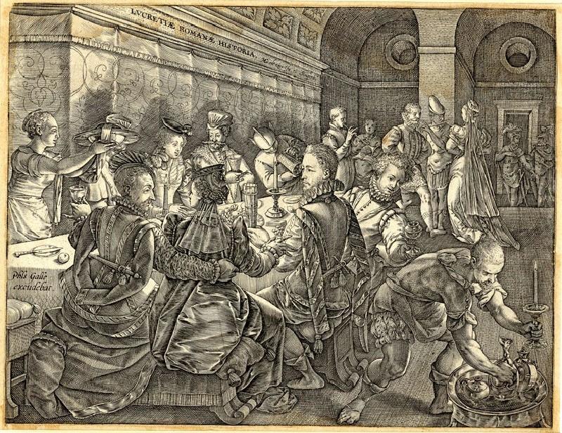 The Banquet of Tarquinius Collatinus