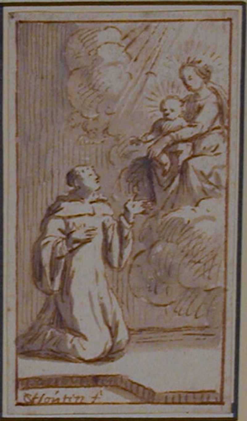 A Vision of our Lady (WA1863.304, record shot)