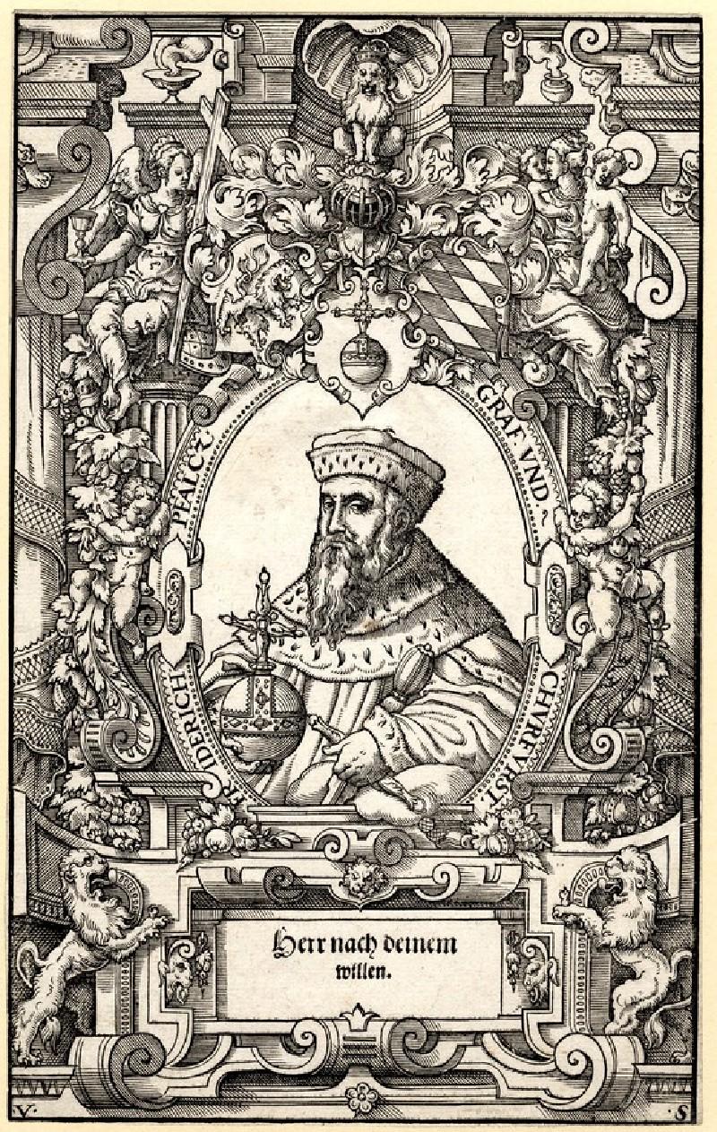 Portrait of Friedrich von der Pfalz (WA1863.3618, record shot)
