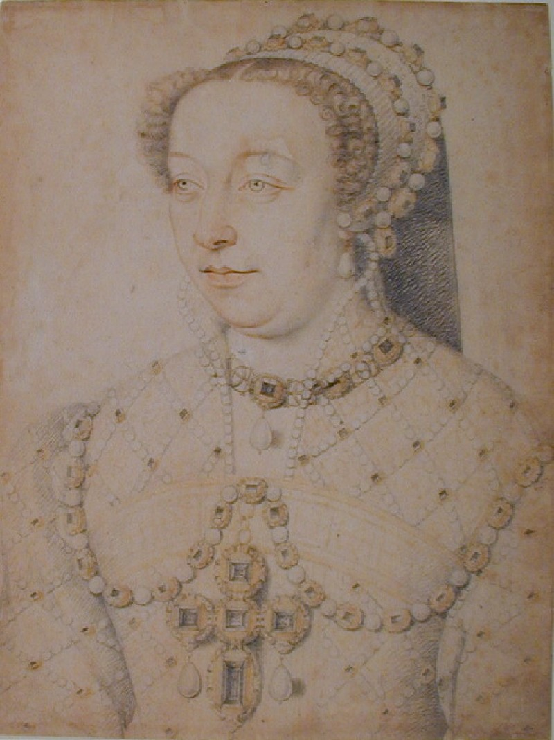 Portrait of Catherine de Medici (WA1863.4, record shot)