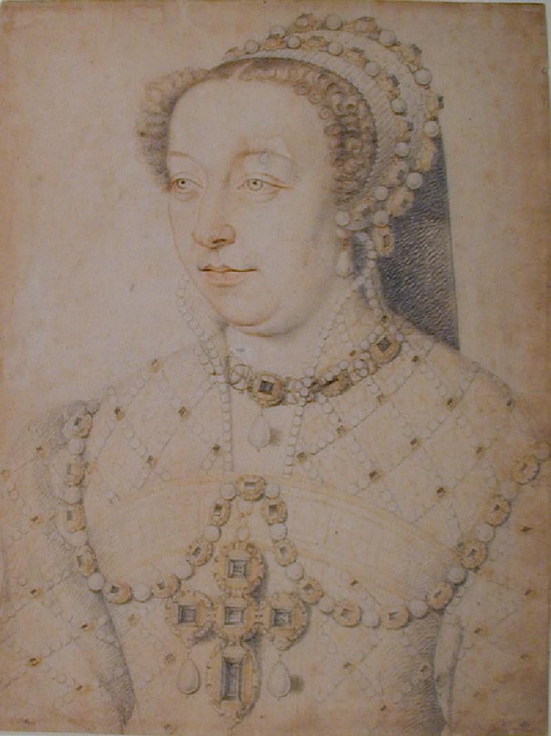Portrait of Catherine de' Medici (WA1863.4, record shot)