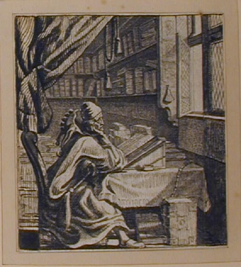 Der Bücher-Narr (WA1863.481, record shot)