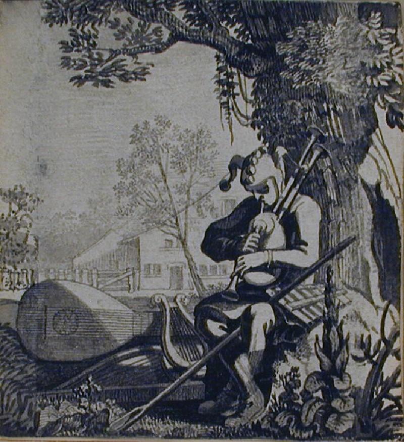 Der übel-wehlende Narr (WA1863.534, record shot)