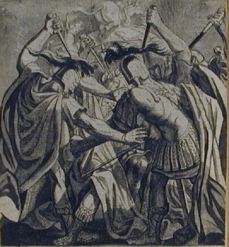 Der auf seine Gewalt vergeblich pochende Narr (WA1863.536, record shot)