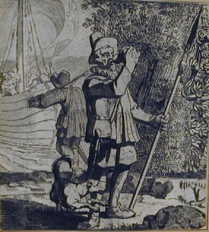 Der Boten-Narr (WA1863.560, record shot)