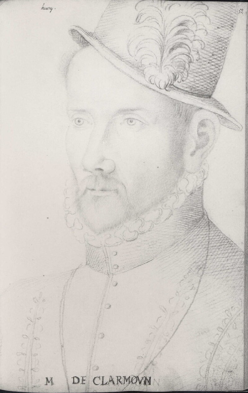 Portrait of Henri de Clermont (possibly)