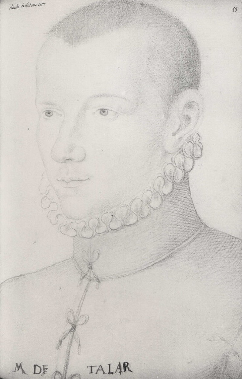 Portrait of Claude de Clermont (possibly)